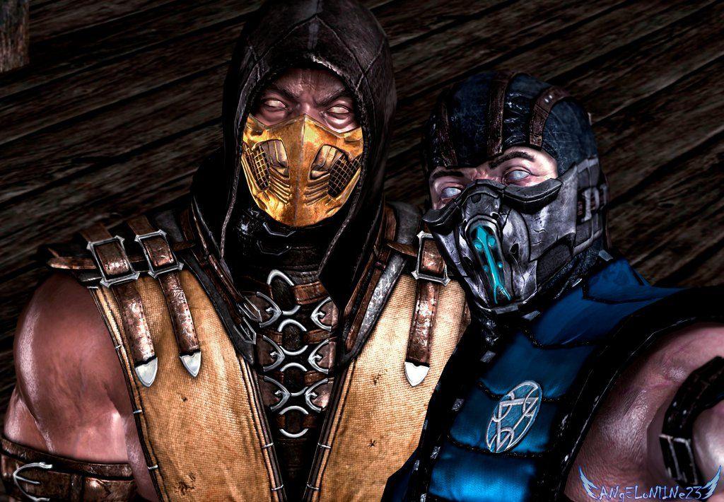Mkx Subzero X Scorpion By Angelonline23 On Deviantart