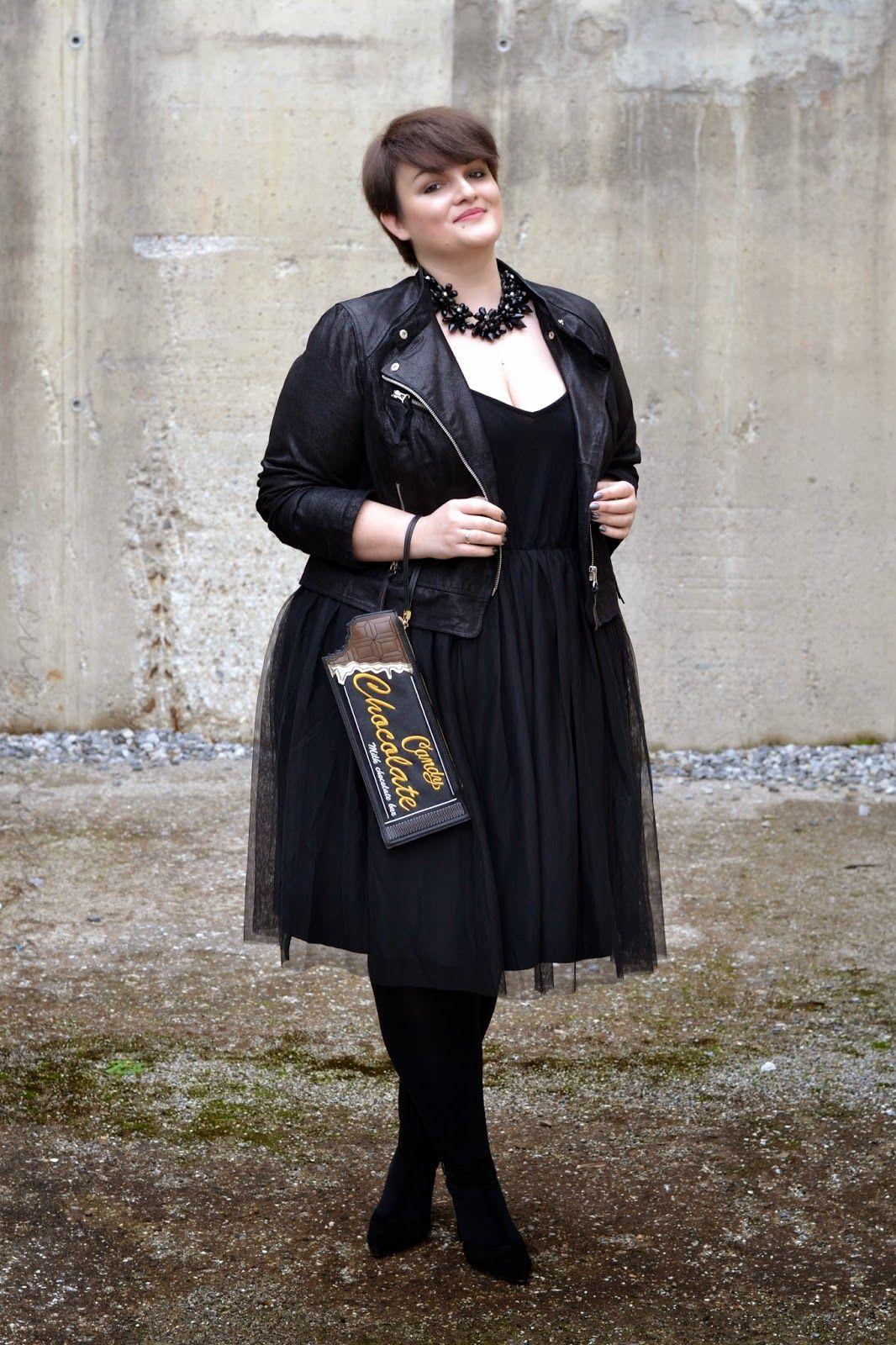I love the black \'ballerina\' dress! (the chocolate purse is ...