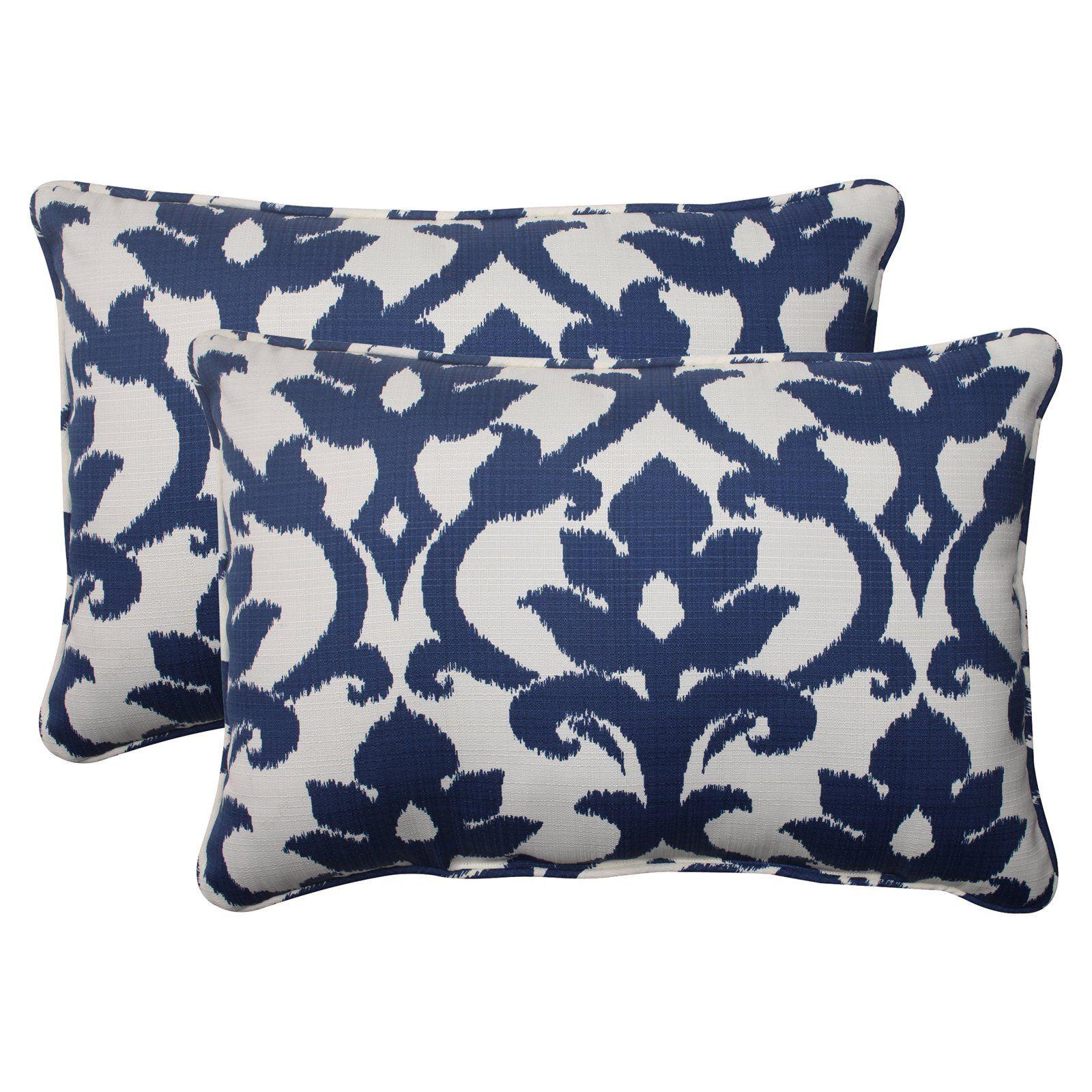 Pillow Perfect Bosco Oversized Rectangle Throw Pillow Set Of 2 Www Hayneedle Com Outdoor Throw Pillows Rectangular Pillow Cover Perfect Pillow