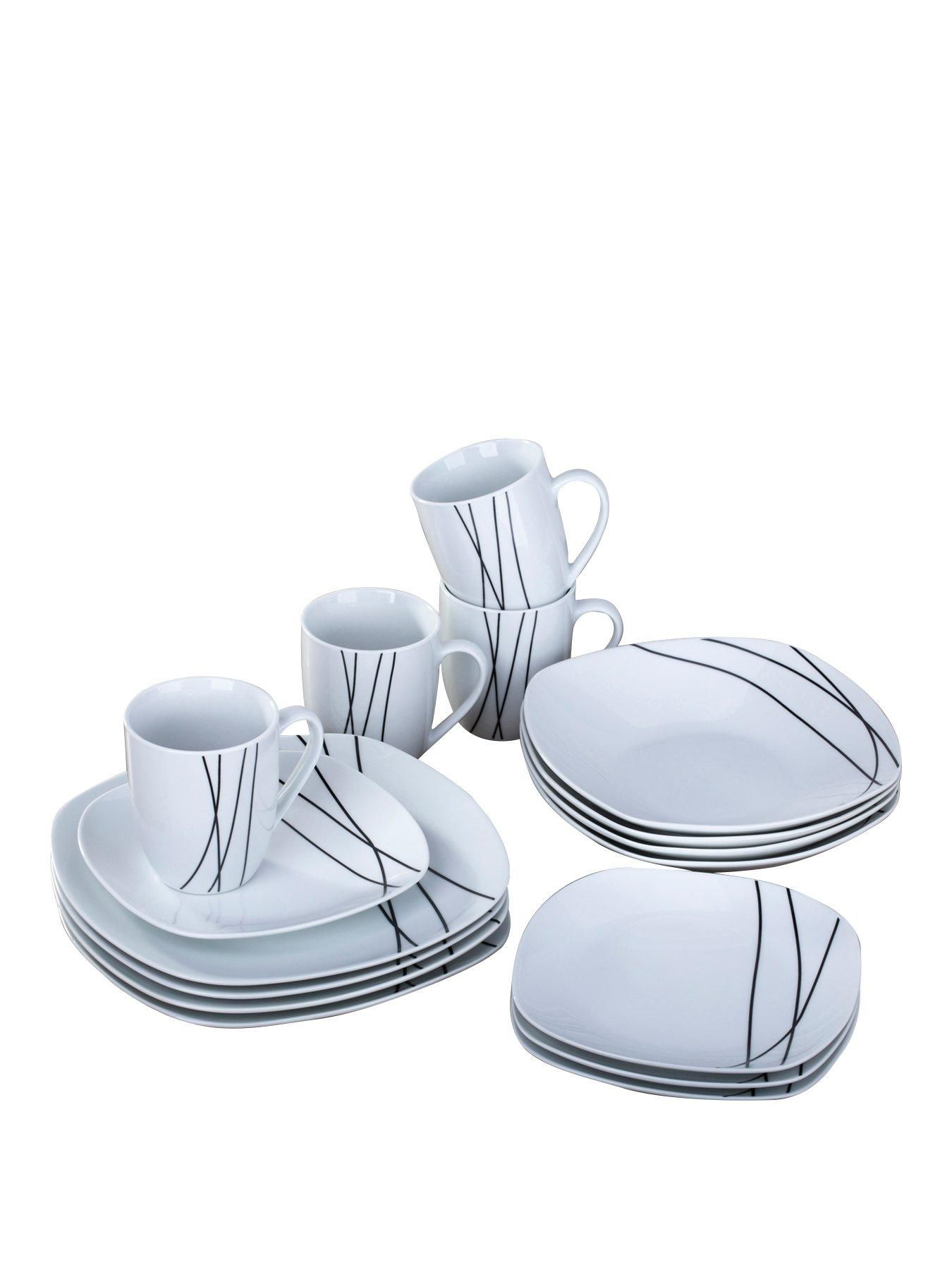 Harper 16-piece Dinner Set With enough pieces included to seat a family of 4 8dc969fe83