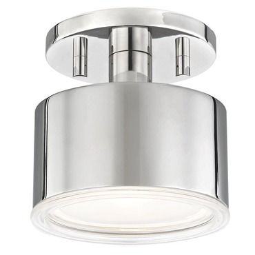 Nora semi flush ceiling light mitzi at lightology