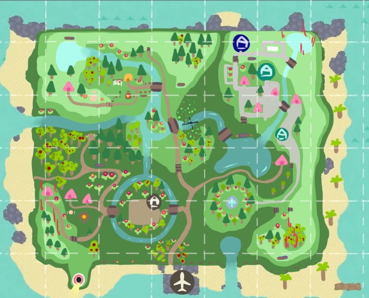 I Had So Much Fun Making My Last Island Plan That I Made A Second