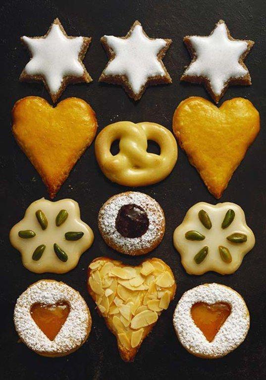 Biscuits de Noël allemands  voir la recette des biscuits allemands de Noël
