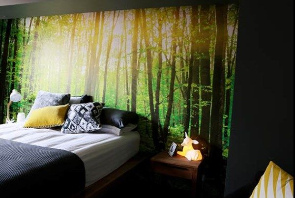 Another one I like a lot! | hotel room | Pinterest | Forest ...