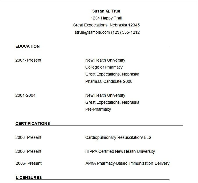 resume templates word download for freshers in 2020