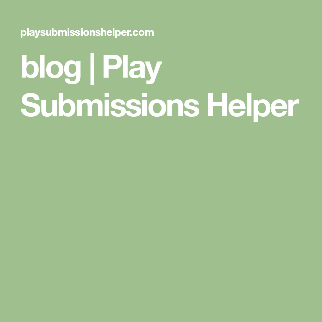 blog   Play Submissions Helper   Writing Stuff   Submissive