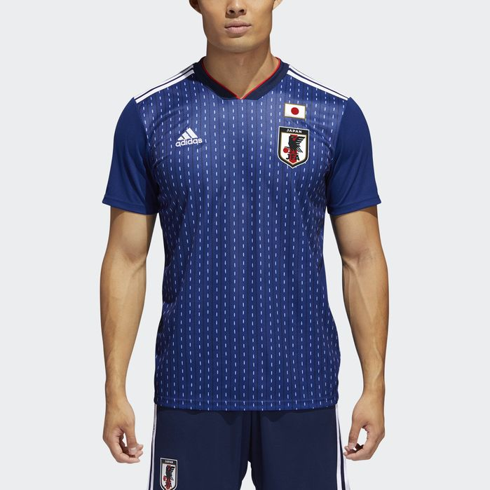 competitive price cc967 7df7f Japan Home Jersey | Products | Japan soccer jersey, Blue ...
