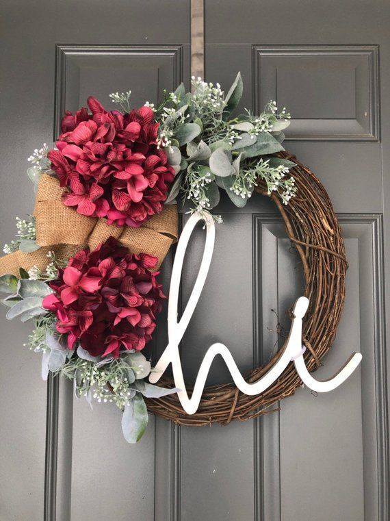 Photo of Wreath for the front door, feather wreath for the front door, wreaths for the front door, feather wreaths for …