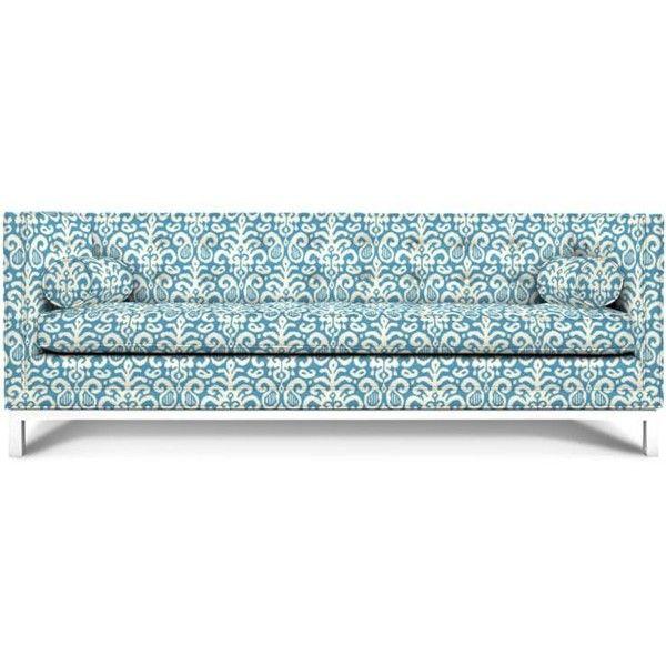 Sofa Slipcovers Lampert Sofa featuring polyvore home furniture sofas jonathan adler sofa dark
