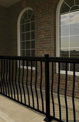 Best 42 Hx46 W Aluminum Railing Kit At Menards Aluminum 400 x 300