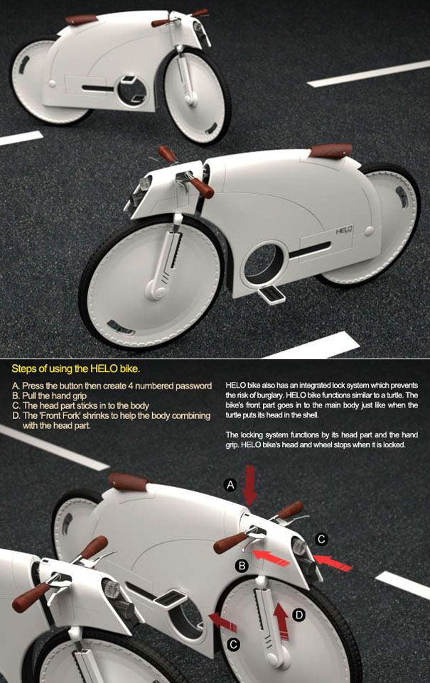 15 Amazing Bicycles For The Future Of Seoul Yanko Design