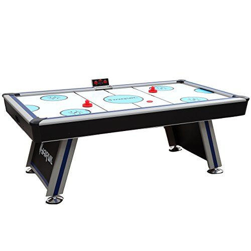 Harvil 7 Foot Air Hockey Table Full Size For Kids And Adu Https Www Amazon Com Dp B01n1q08uf Ref Cm Sw R Pi D Air Hockey Table Air Hockey Air Hockey Games