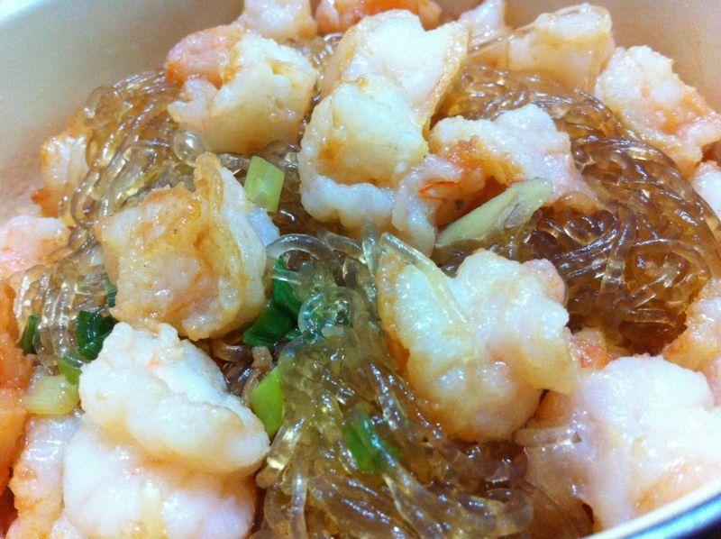 鮮蝦粉絲煲─大廚小烹家裡做129 - 戴媽醬廚心 - udn部落格 | Seafood dishes, Seafood, Food