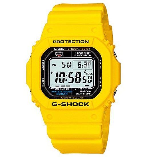 Casio G Shock Yellow Tough Solar Watch G 5600a 9 G5600a