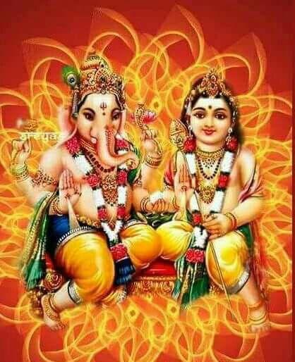 Ganesha Y Kartikeya Lord Murugan Wallpapers Hindu Art Hindu Deities