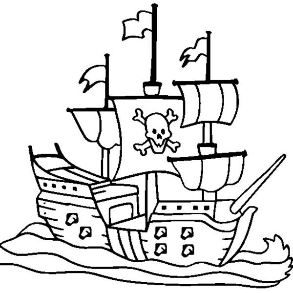 Pirate Ship Coloring Pages Bulk Color Pirate Coloring Pages Coloring Pages Summer Coloring Pages