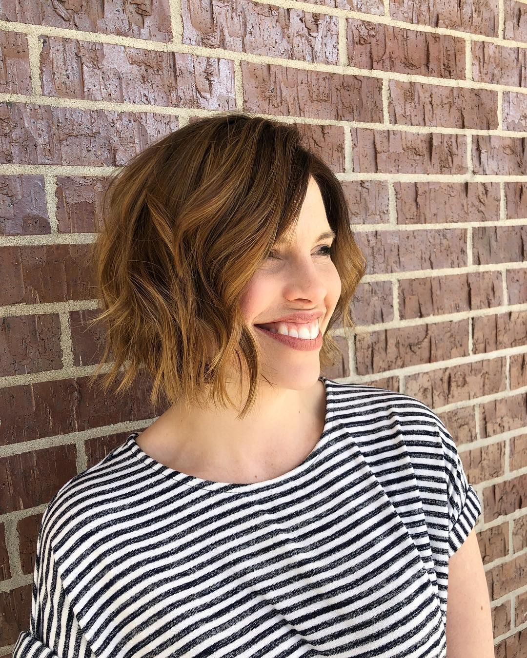 Hair by Sisu Hairdressing, Lincoln, NE // Smiling because this haircut + color combo is just too ...