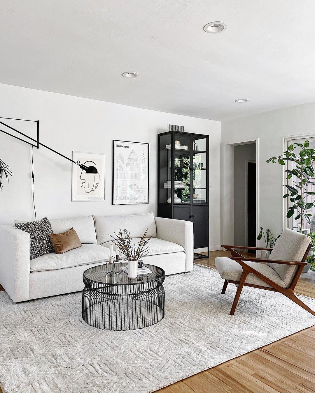 Simple Modern Living Room In 2020 Home Home Hacks Living Room Inspiration