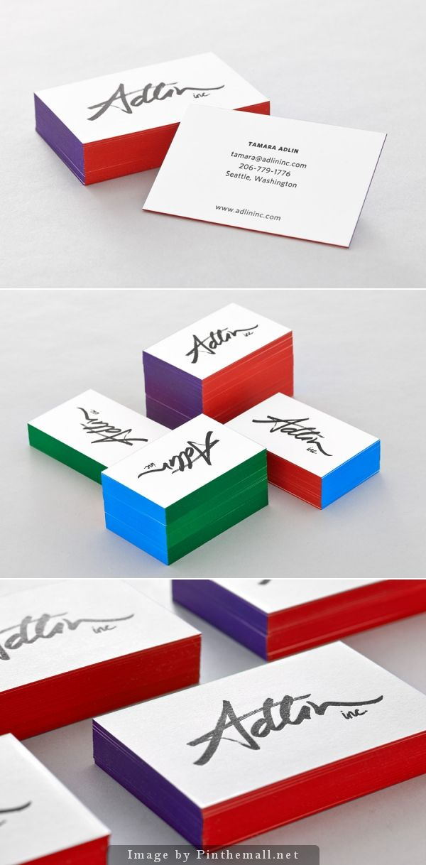 New Logo for Adlin Inc. by Apartment One - BP&O   Business cards ...