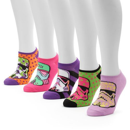 Star Wars 5-pk. Women's No-Show Socks