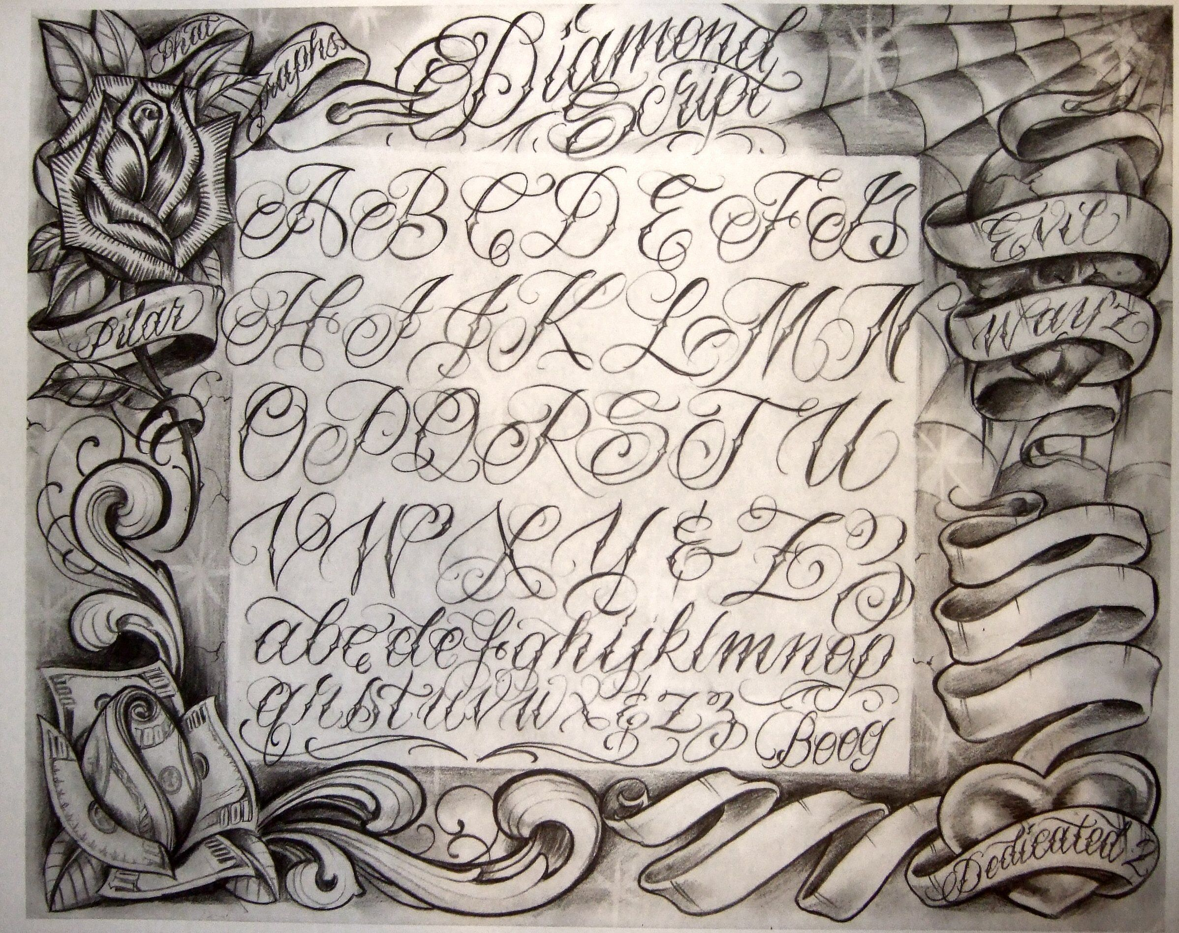 Chicano La Gangs Google Search Tattoo Lettering Fonts