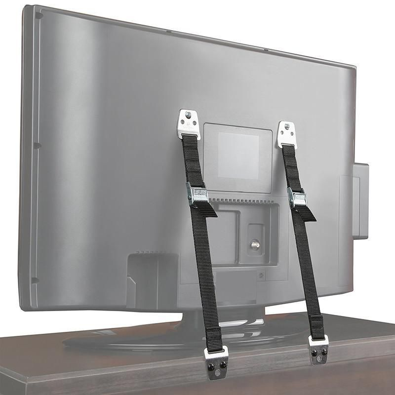 Antitip straps 2 sets with images furniture wall