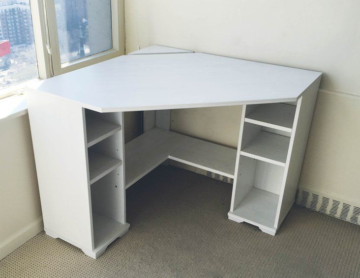 Ikea Borgsjo Corner Desk Furniture Home By Owner For Sale On Orland Park Bookoo Diy Corner Desk Corner Desk White Corner Desk
