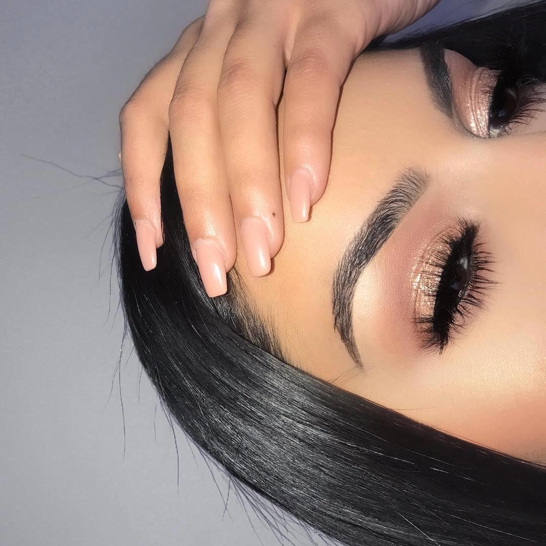 Lets Follow Each Other To Beauty Ashley Kalon Found Kalonfound Com Makeuptricks Makeup For Beginners Simple Eye Makeup Skin Makeup