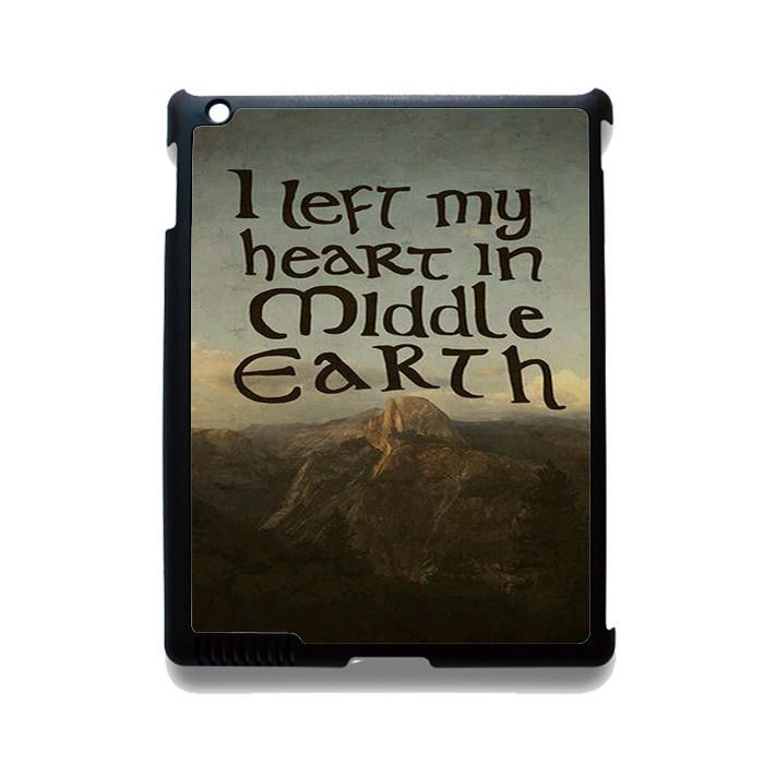 The Lord Of The Rings Middle Earth Quotes TATUM 10894 Apple Phonecase Cover  For Ipad
