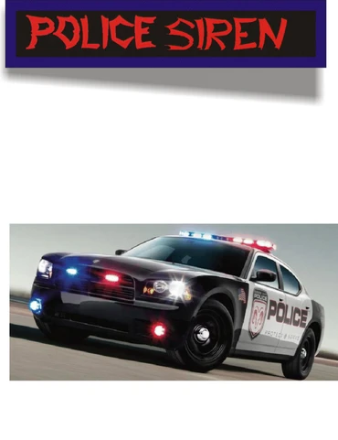 Realistic Police Car Siren For Diecast Vehicles Police Cars Diecast Police Siren