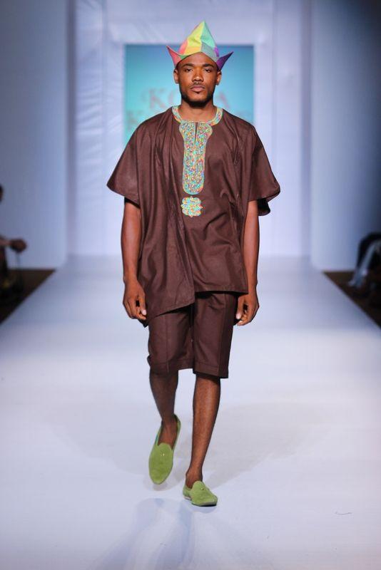 MTN Lagos Fashion & Design week: Spring/Summer 2013 Kola Kudus