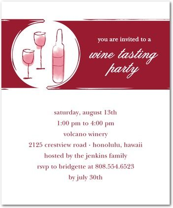 wine tasting party invitation Party Invites Pinterest Wine