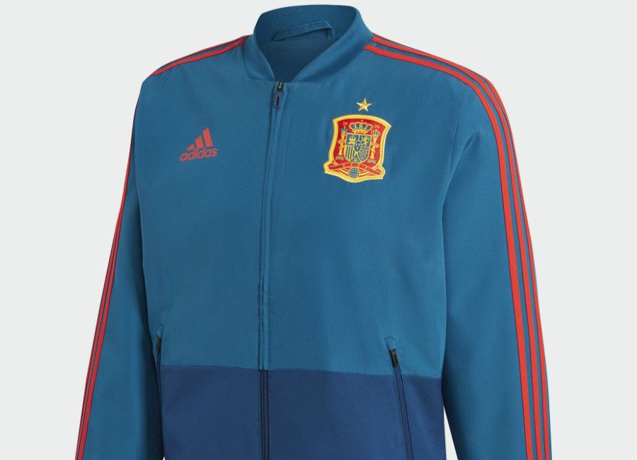 Spain 2018 World Cup Adidas Presentation Jacket Tribe