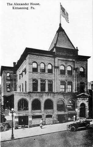 The Alexander House Hotel 2920 Kittanning Pa Ford City Pennsylvania