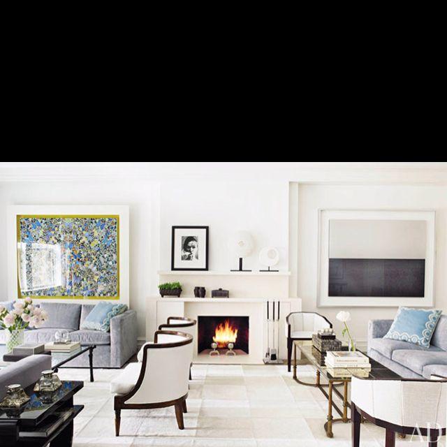 Fireplaces Interior Design Home Contemporary Living Room