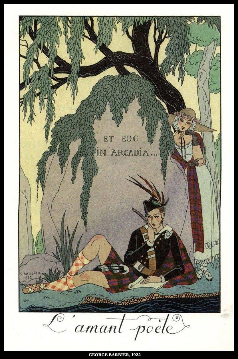 Barbier, George (b,1882)- L'Amant Poète, 1922