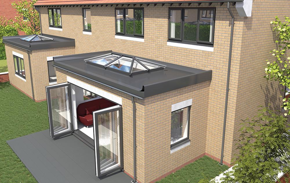 Skypod Skylights Flat Roof Skylights Roof Lantern House Extension Design