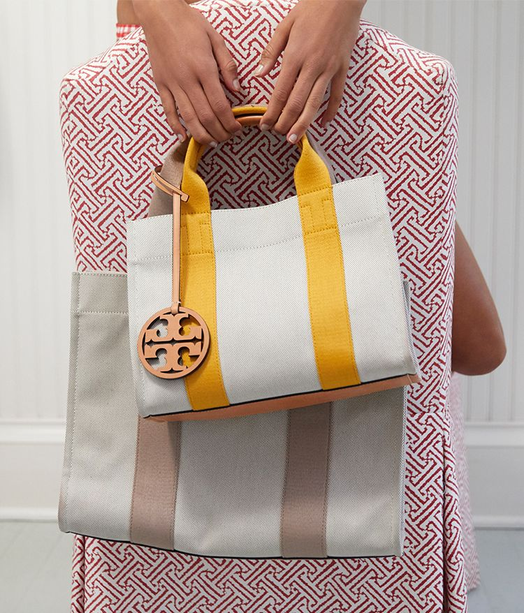 3c7050e7a67 Tory Burch Miller Canvas Tote | Spring/Summer 2018 | Tory burch bag ...