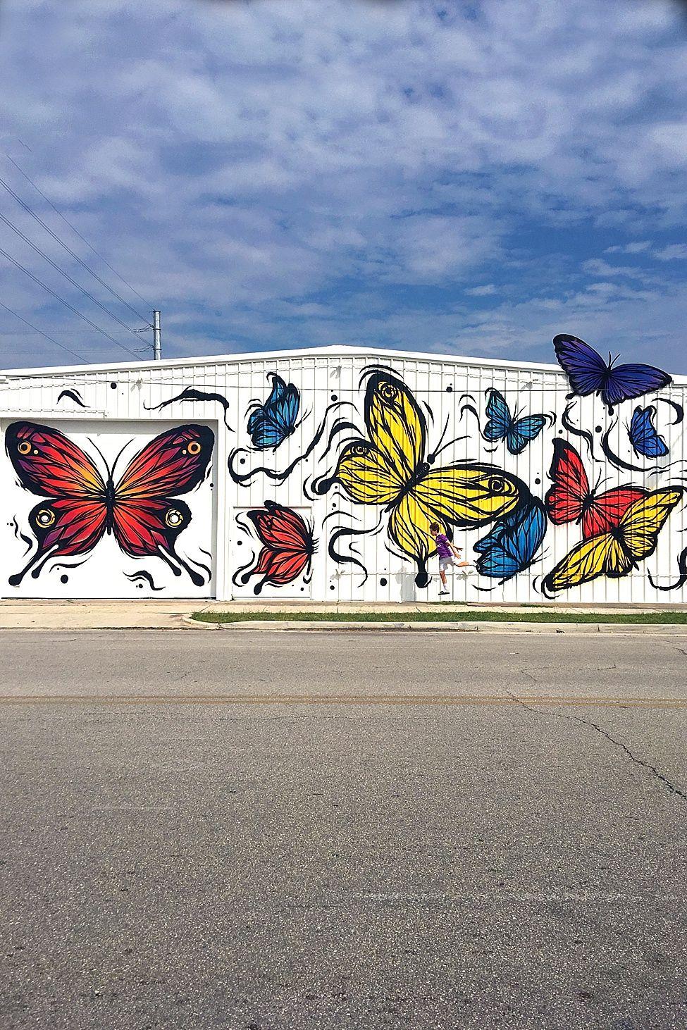 Butterflies 2201 Preston St Houston TX 77003 Wall 37