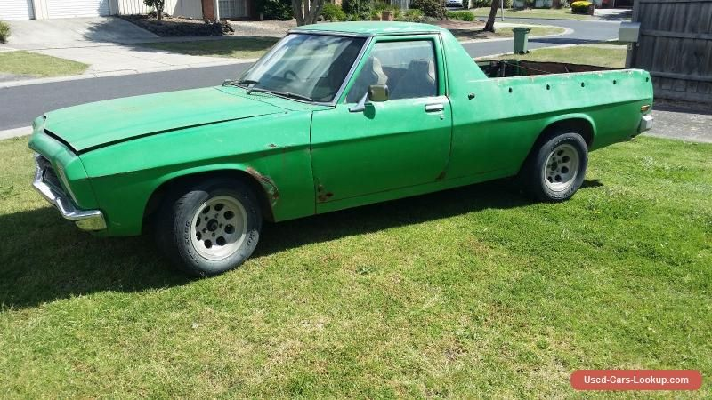 Car For Sale Hq Ute 308 Turbo 350 Trans Bucket Seats T Bar Auto