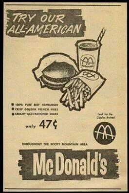 1964 McDonalds Restaurants Ad