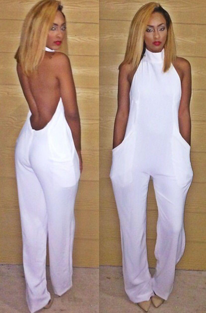 ZIMUUY Body Jumpsuit Femme sans Manches Jumpsuit Dames Casual Pliss/é Combi-Short Pantalon Long