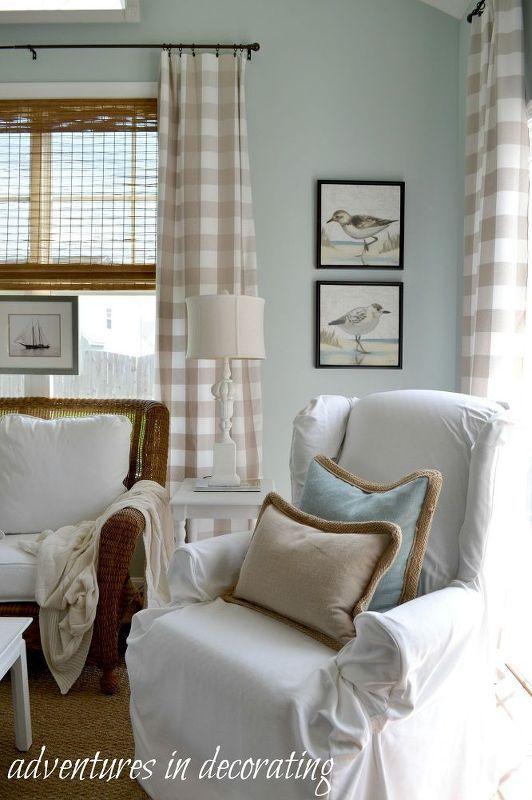 Turn Any Room Into A Sunny Beach House Living Room Decor