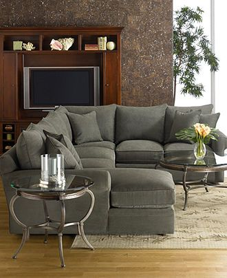 Doss Fabric Microfiber Sectional Sofa 3 Piece Right Arm