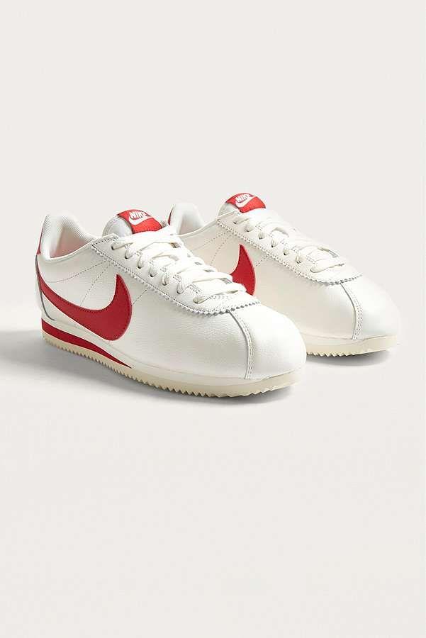 huge selection of 97bfa 629a8 Slide View  2  Nike - Baskets Classic Cortez SE en cuir rouges