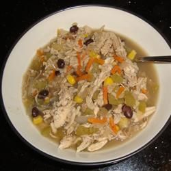 Chicken and Brown Rice Soup  Healthy and low cal.....very good!!!