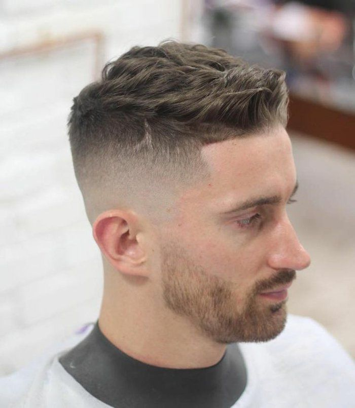 Idee coiffure cheveux court homme