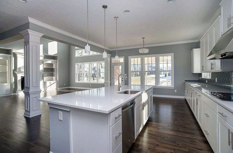 How To Make A Room Gray And White Kitchen Grey Kitchen Walls