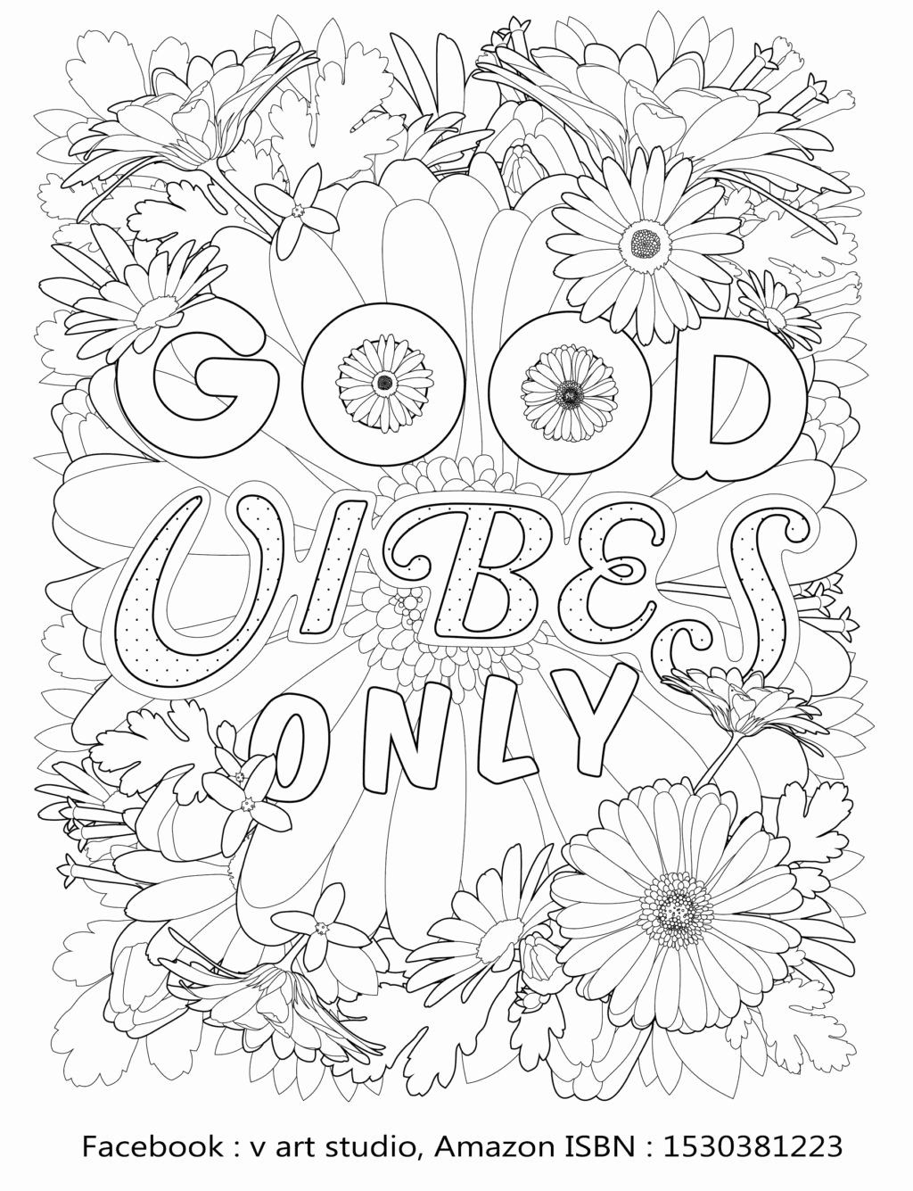 Good Vibes Coloring Book Beautiful Coloring Good Vibes Coloring Book Pin By K Imagine Coloring Books Love Coloring Pages Coloring Pages Inspirational