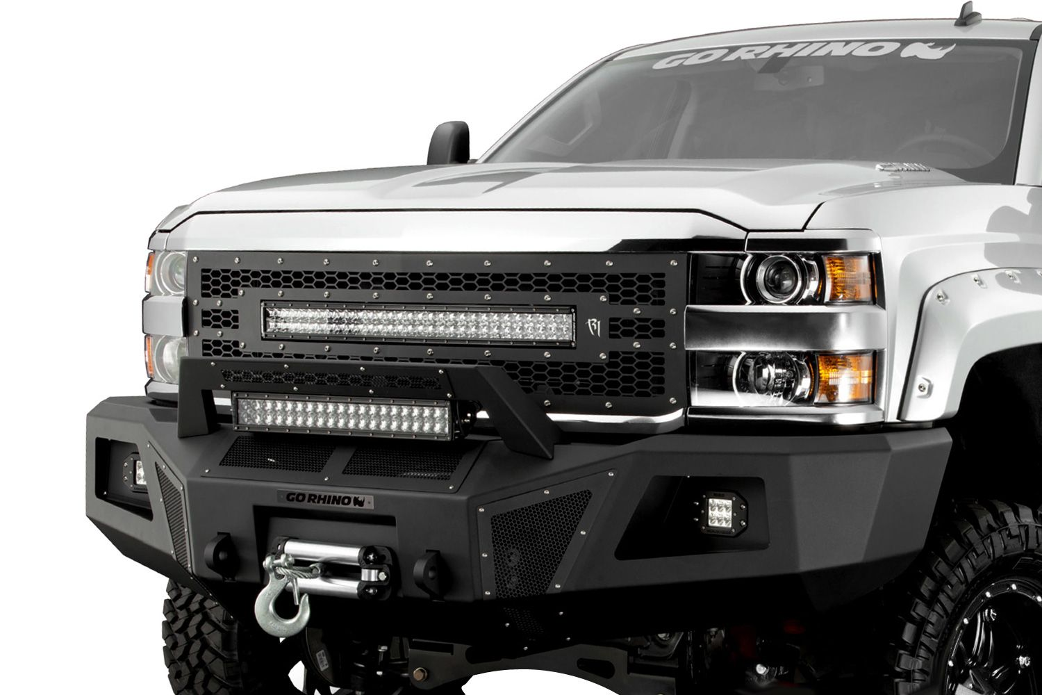 Go Rhino B10 Front Bumper Replacement Chevy Silverado Accessories Chevy Silverado 2011 Chevy Silverado